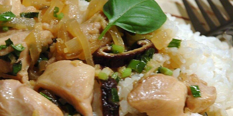 thai chicken with basil stir fry recipe