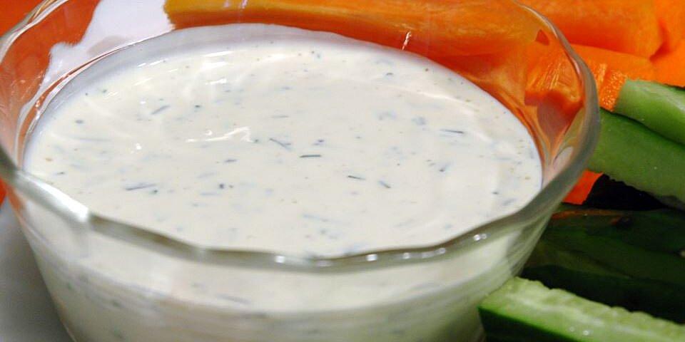 creamy dill dipping sauce recipe