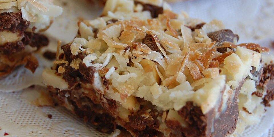 amazing gluten free layer bars recipe