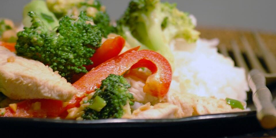 thai peanut chicken recipe