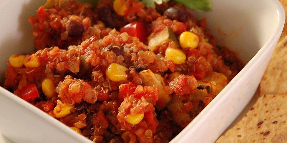 recipes quinoa and black bean chili
