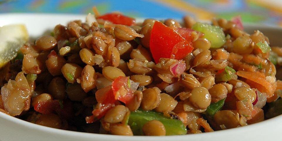 refreshing lentil salad recipe