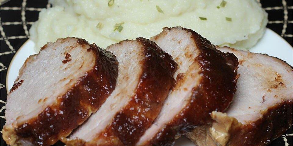 apple butter pork loin recipe