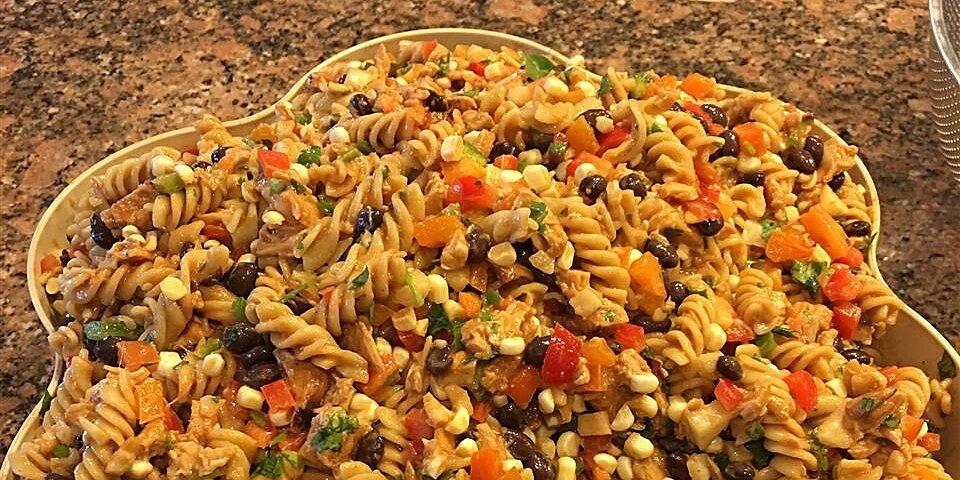 barbeque chicken pasta salad recipe