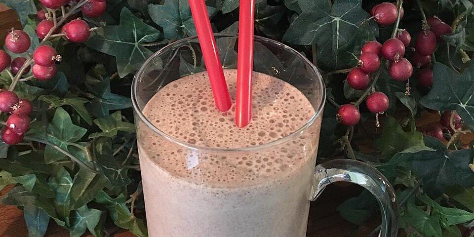 banana chocolate almond milk smoothie recipe