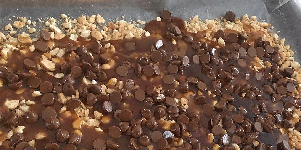 easy cashew sea salt toffee
