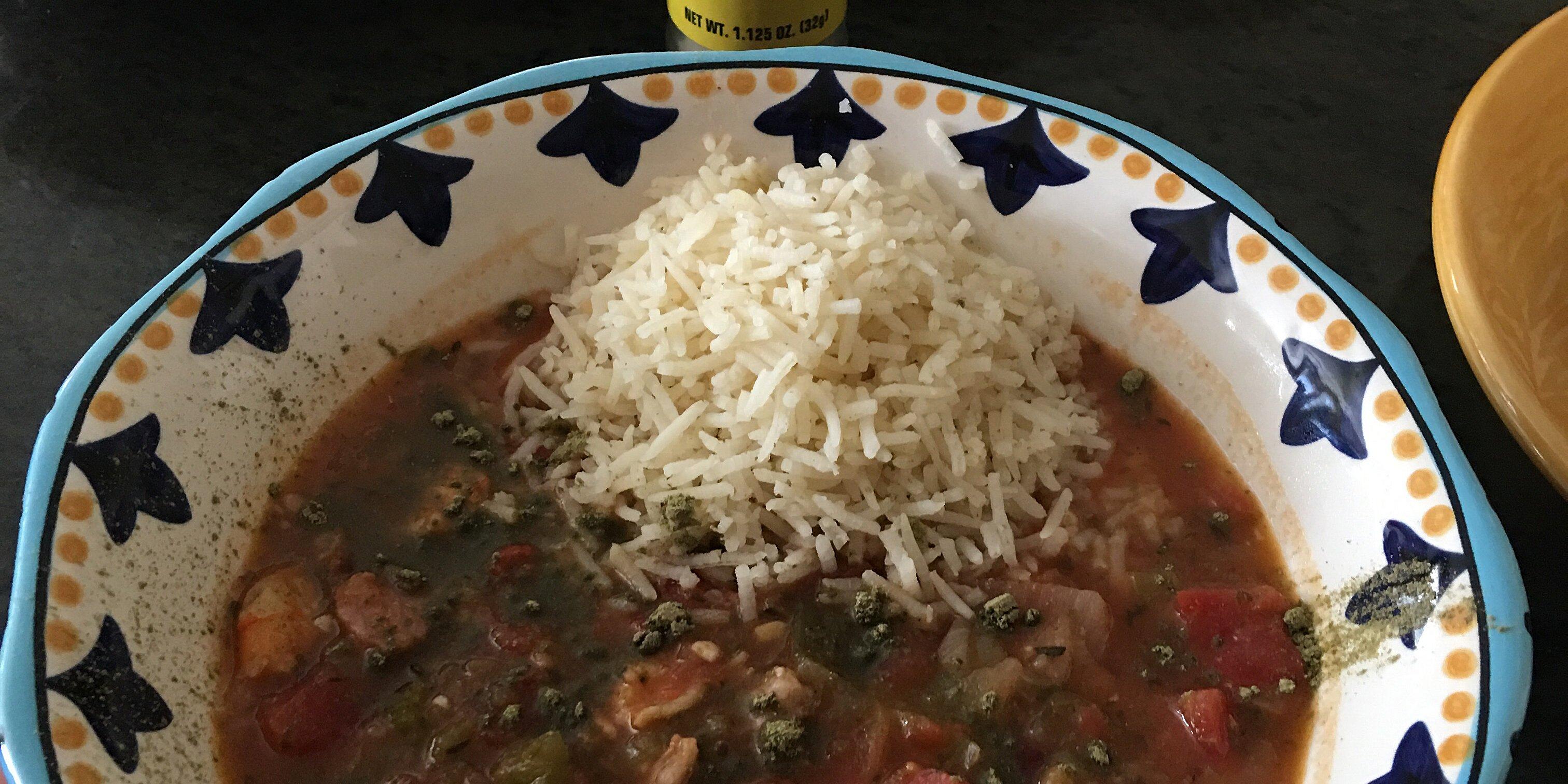 savory shrimp gumbo recipe