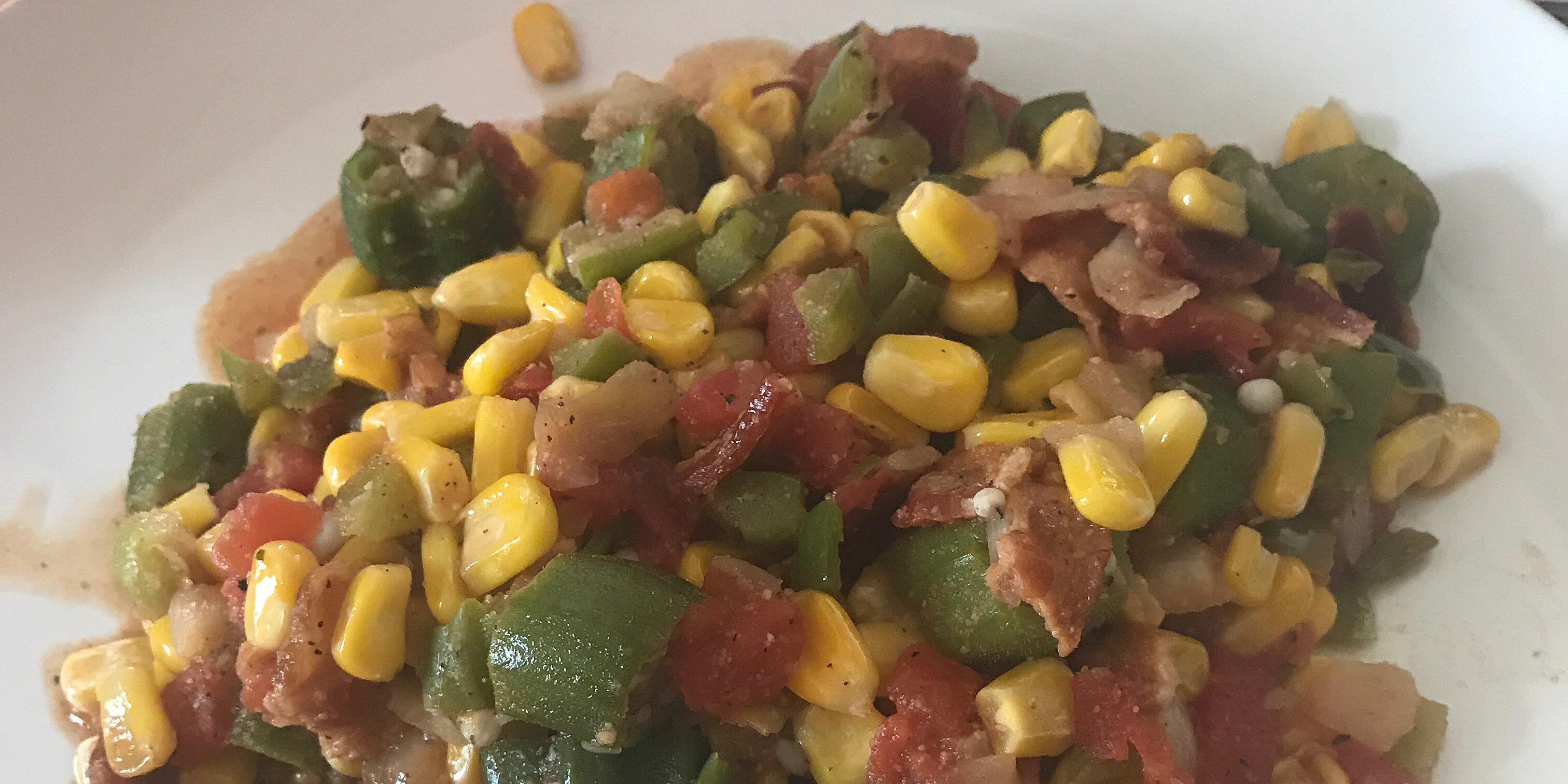 okra corn and tomatoes recipe