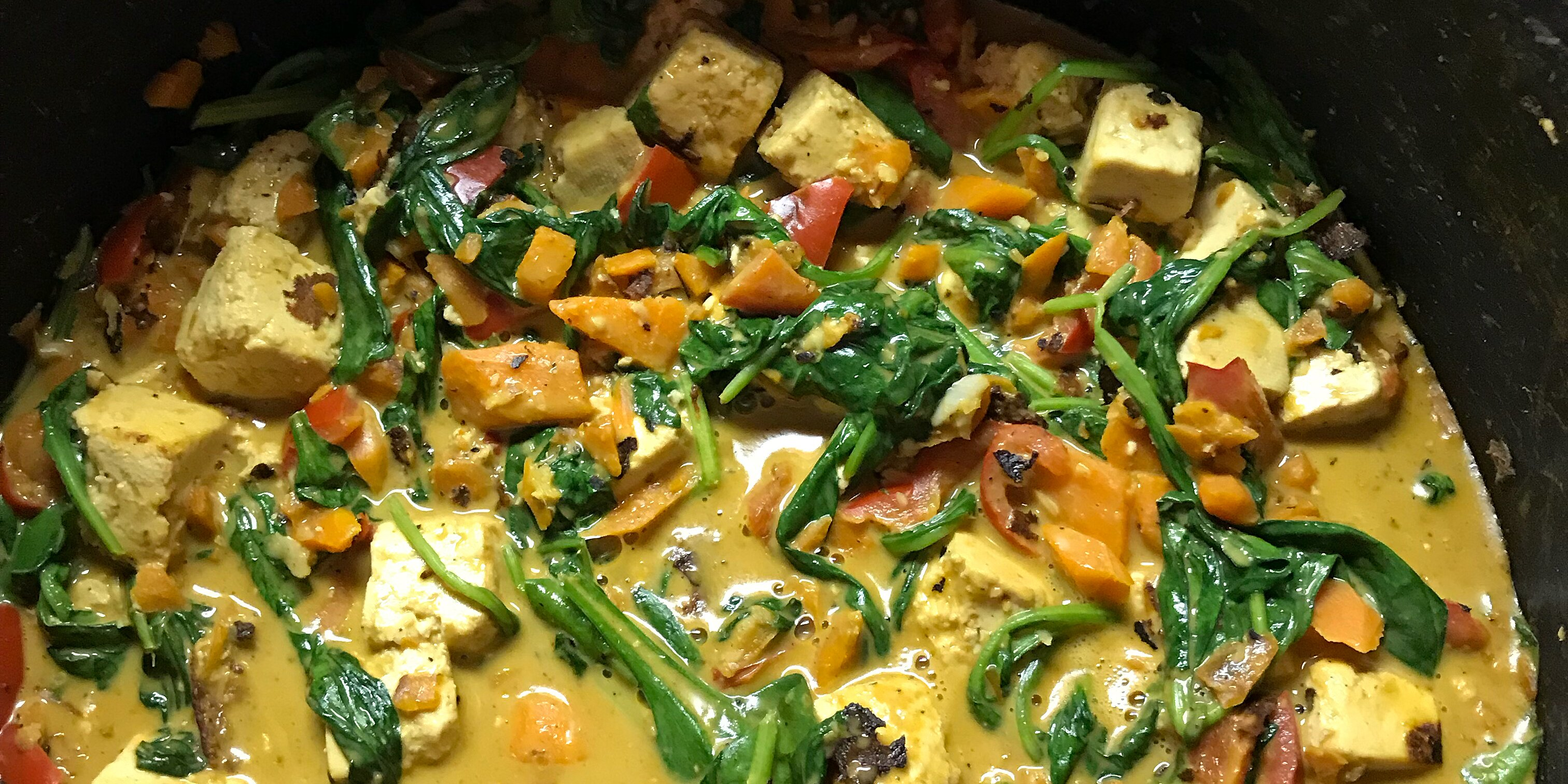 tofu stir fry with peanut sauce vegan recipe
