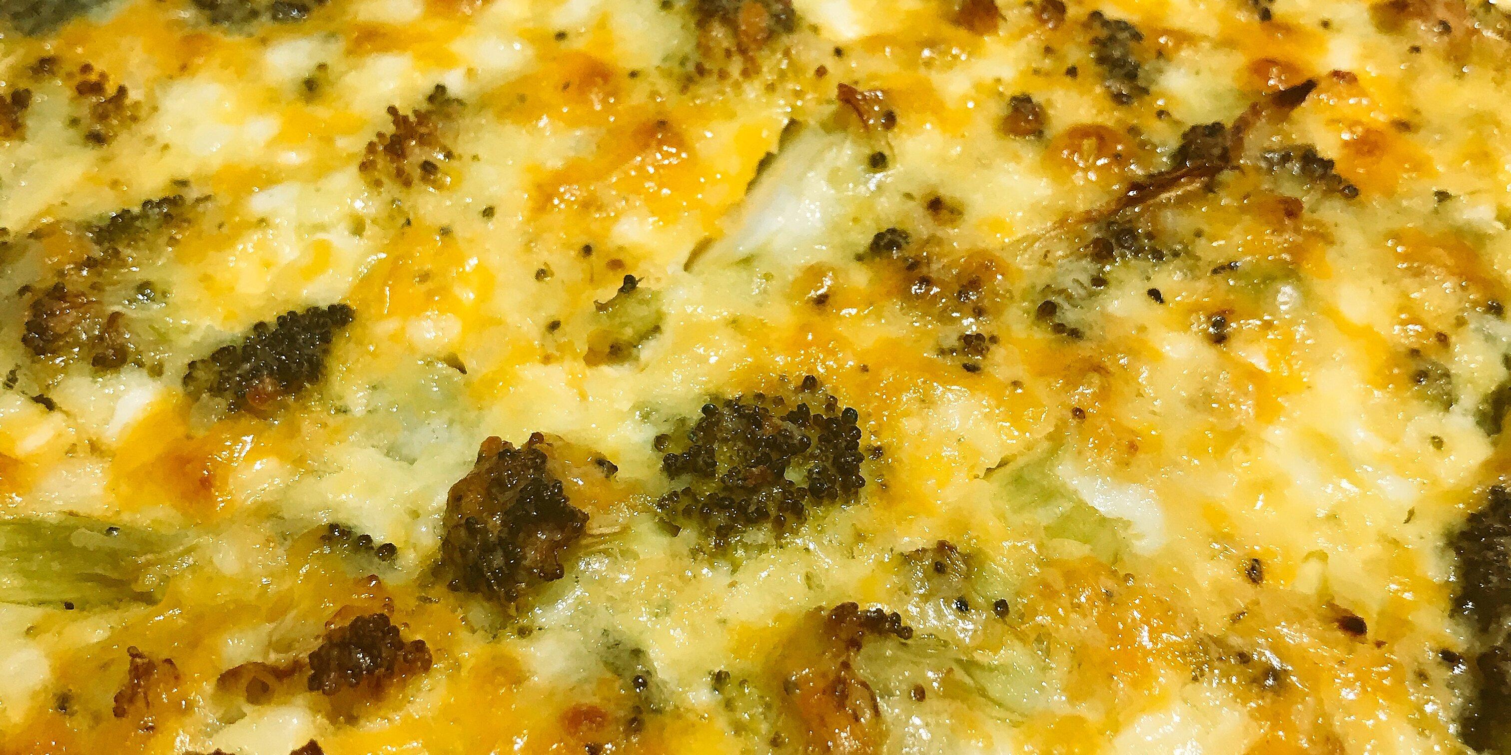 easy broccoli cheese casserole recipe