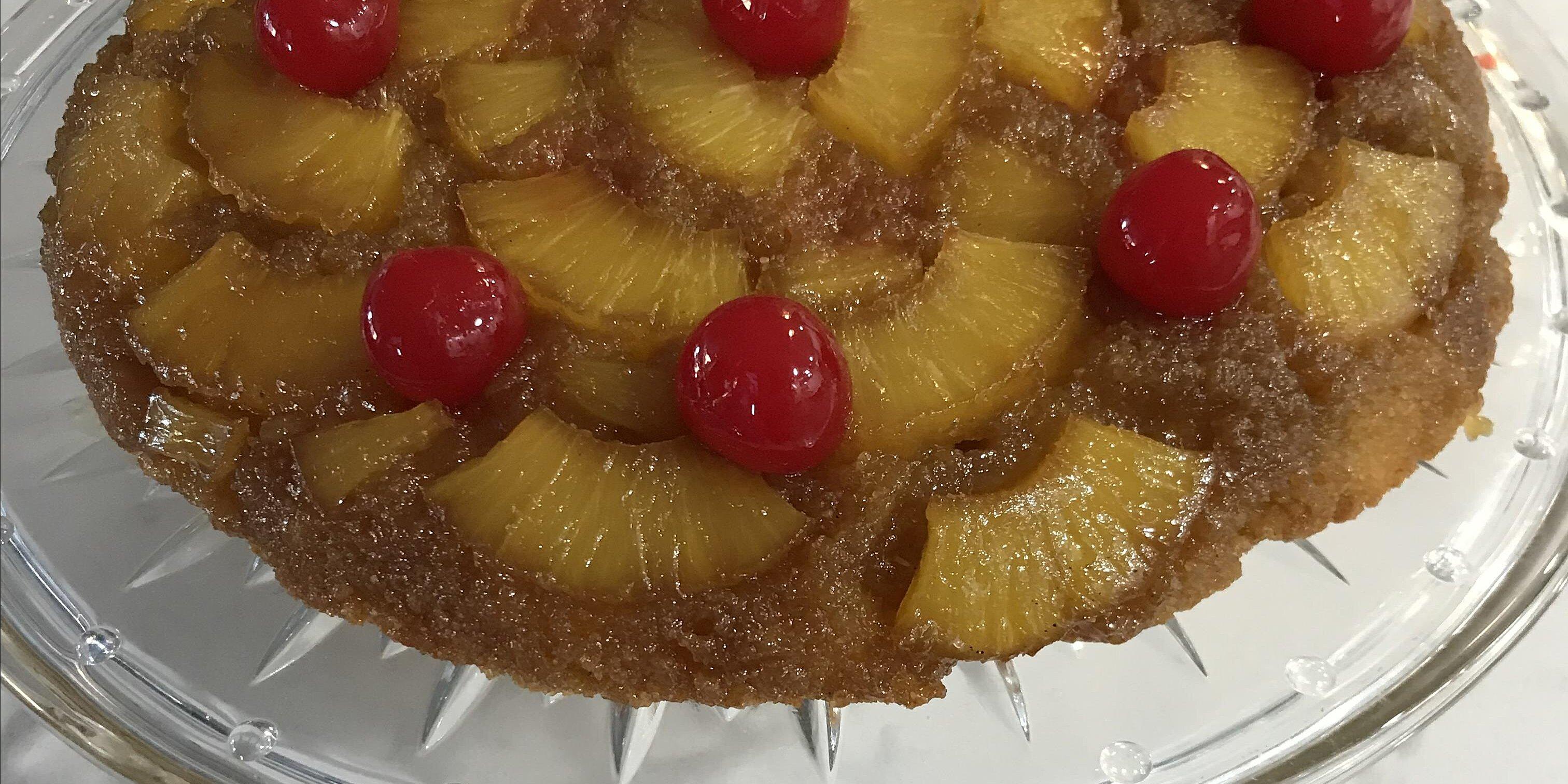 pineapple upside down cake gluten free recipe