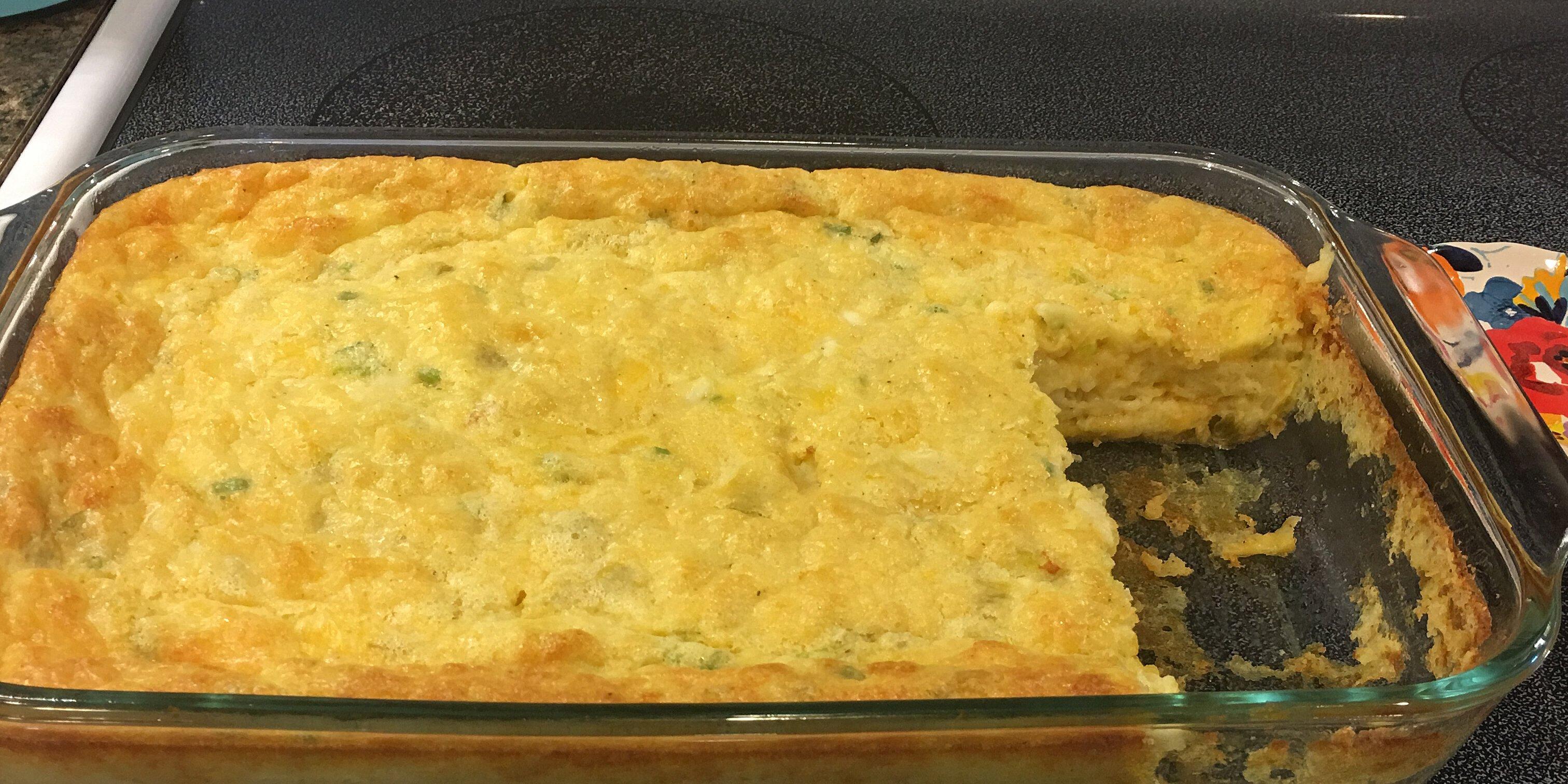 green chile egg casserole recipe