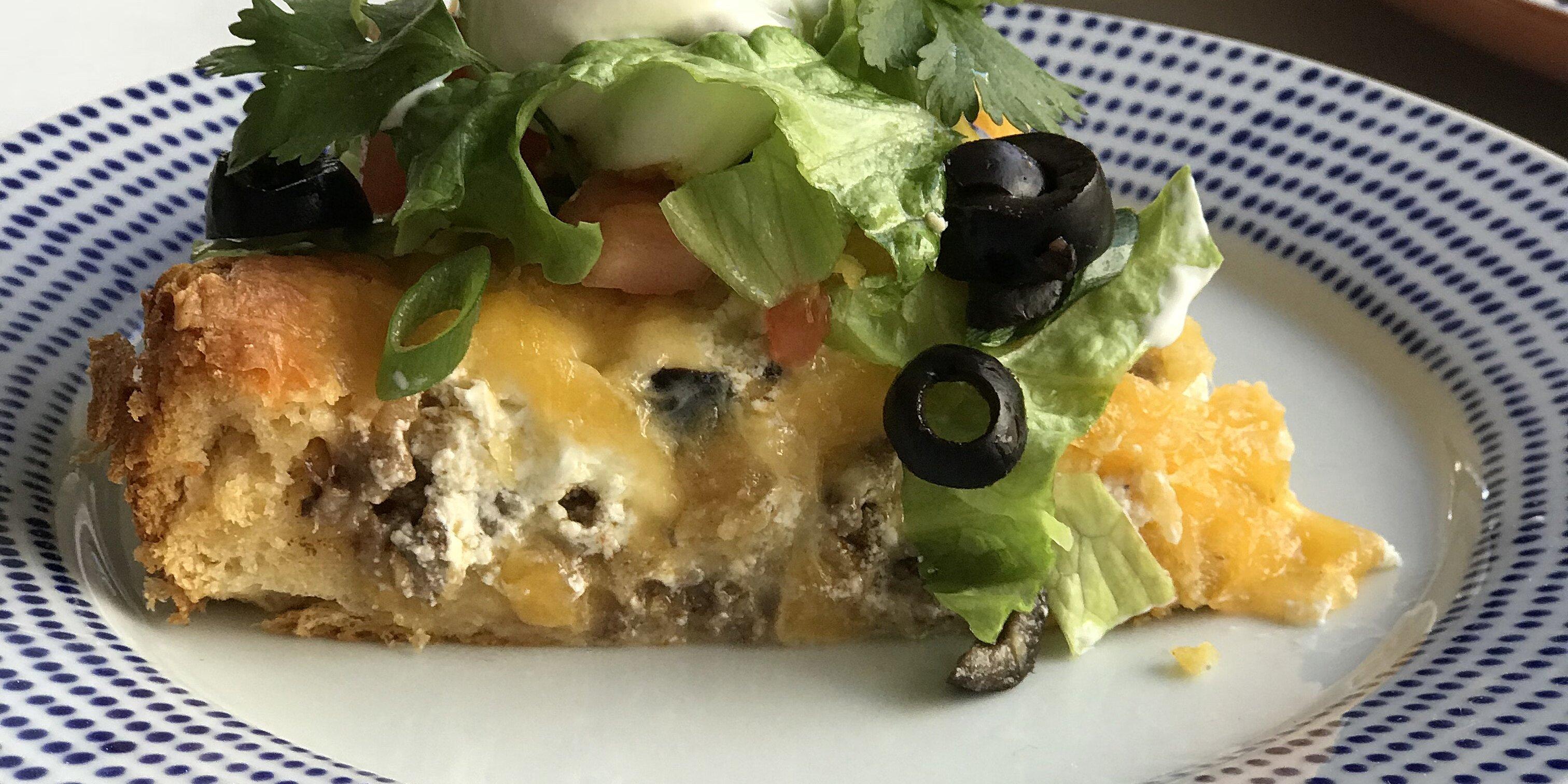 quick crescent taco pie recipe