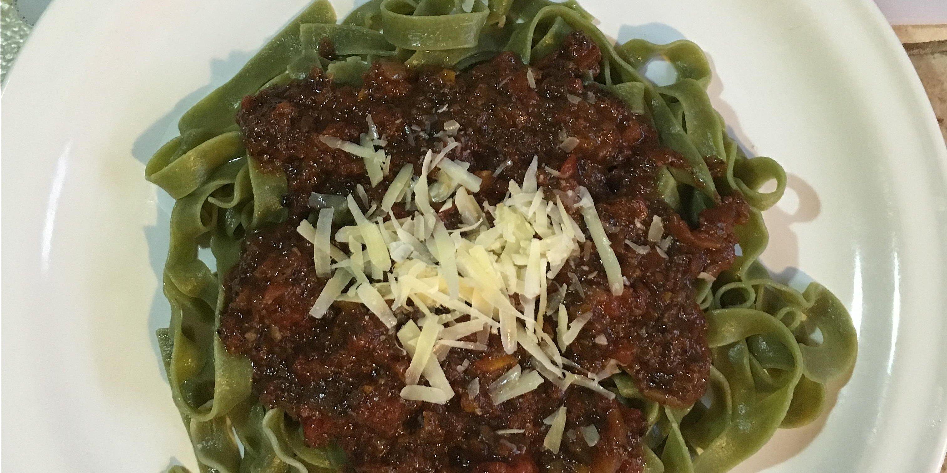 portobello mushroom bolognese sauce recipe
