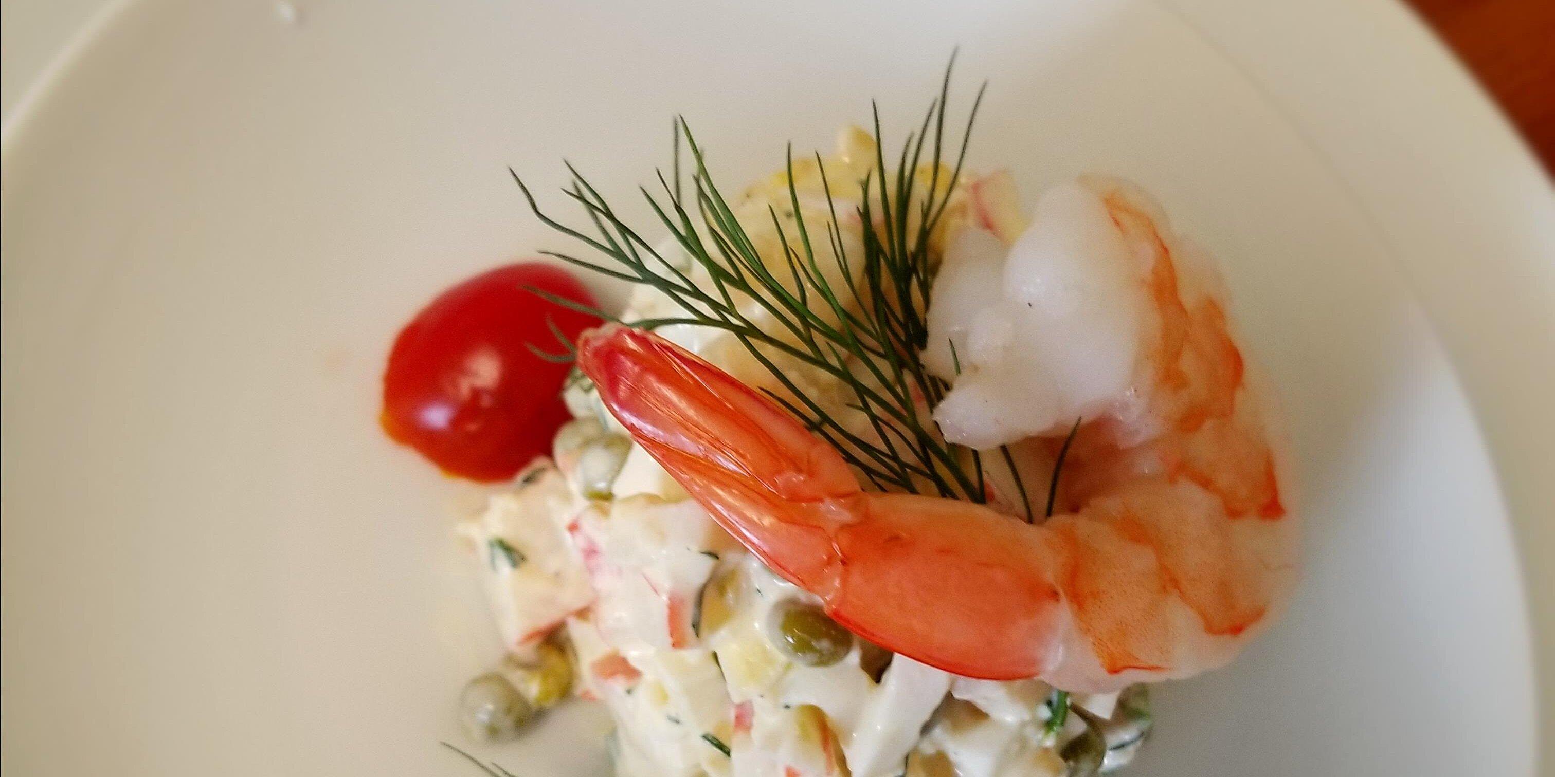 simple crab and shrimp salad recipe