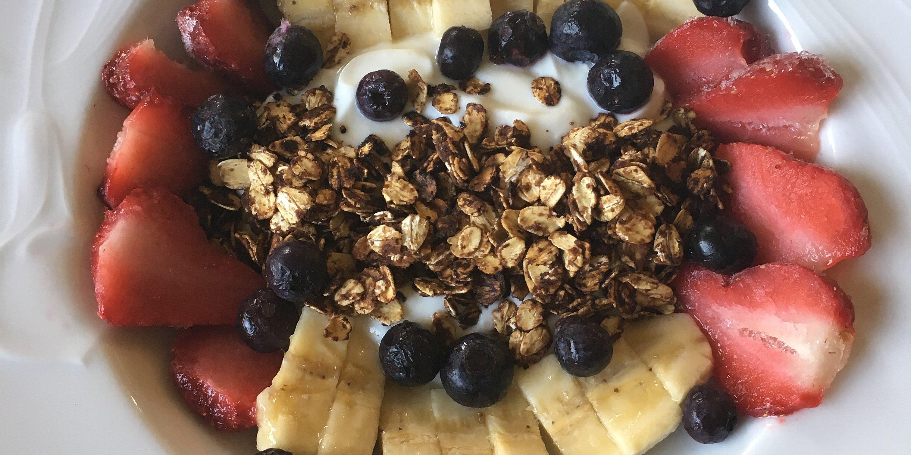 breakfast banana sundae recipe