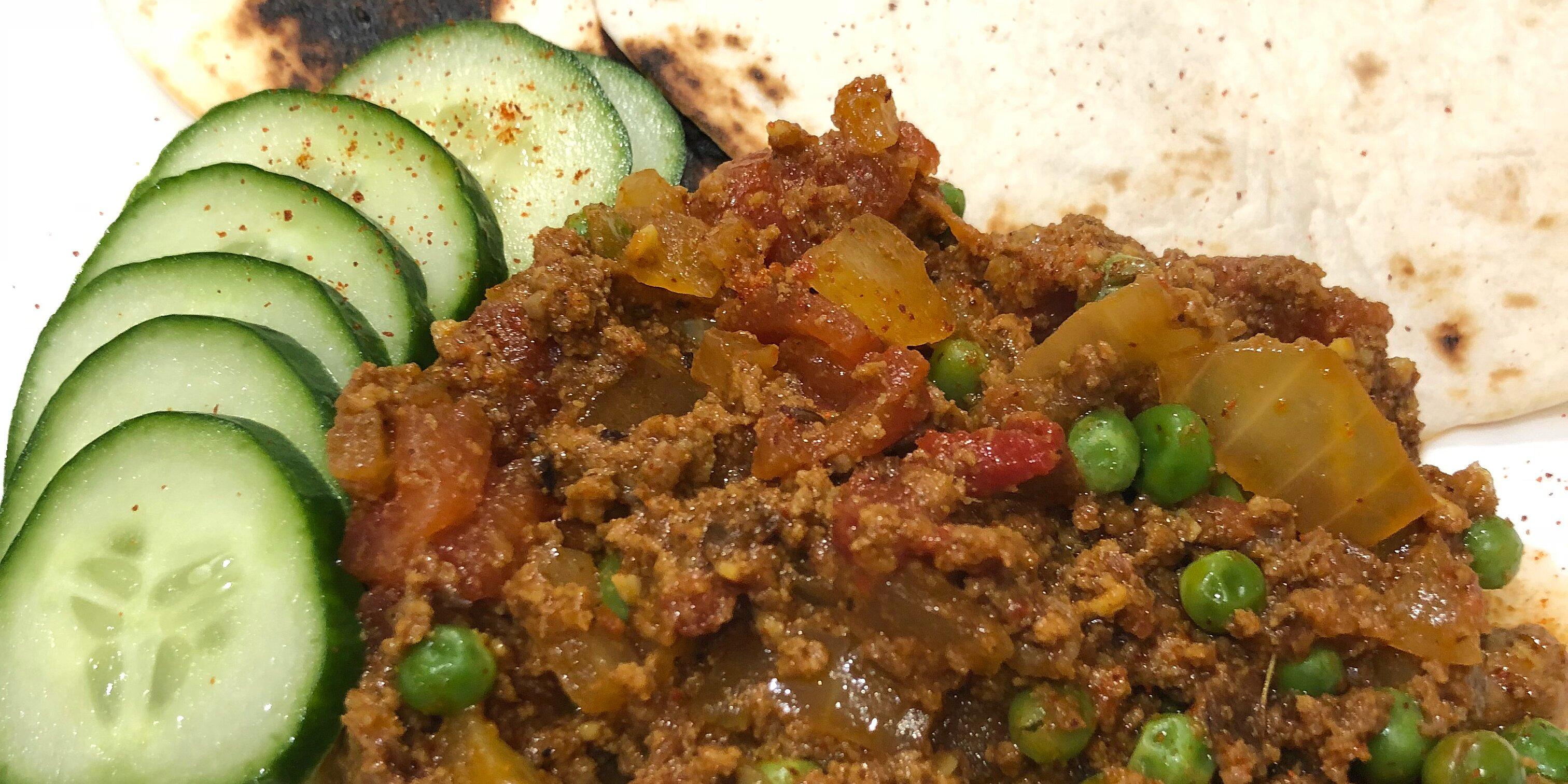kheema matar beef and pea curry recipe