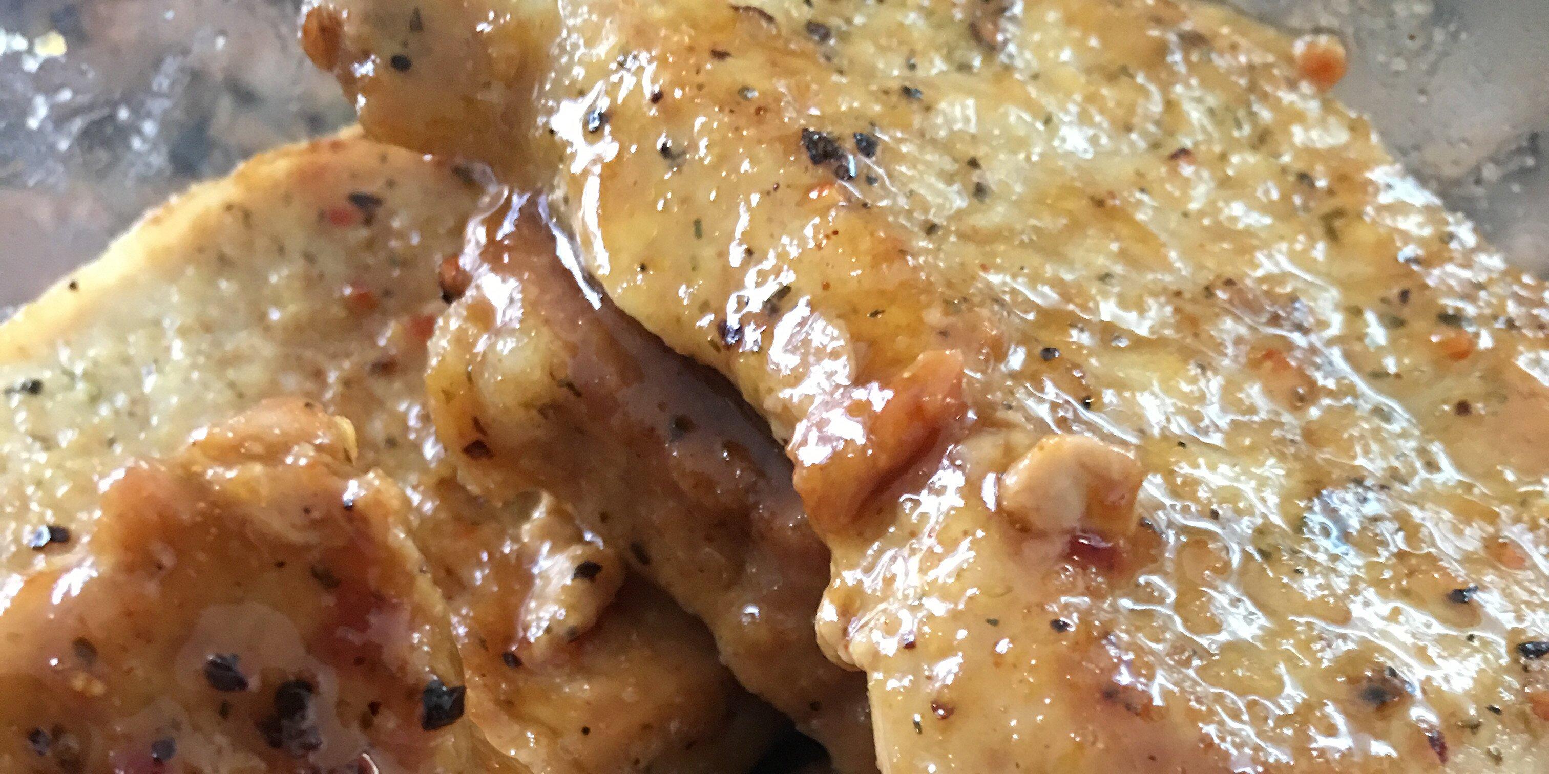 honey mustard pork chops recipe