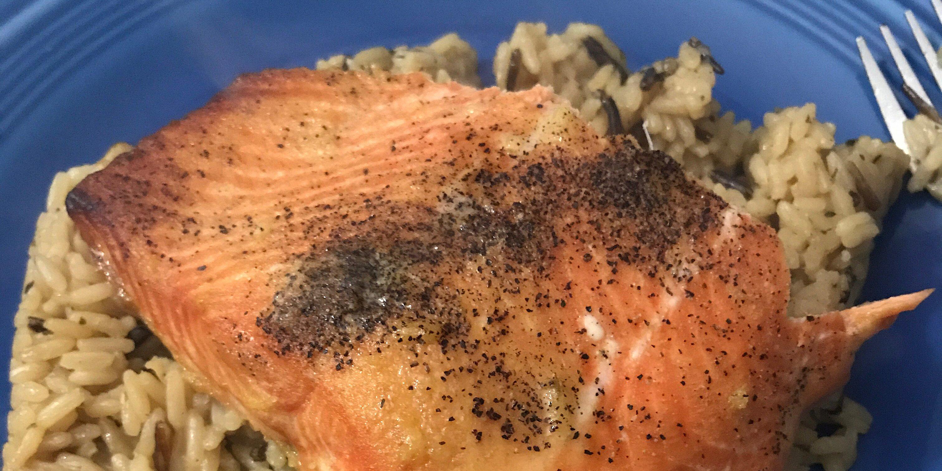 ginger salmon recipe