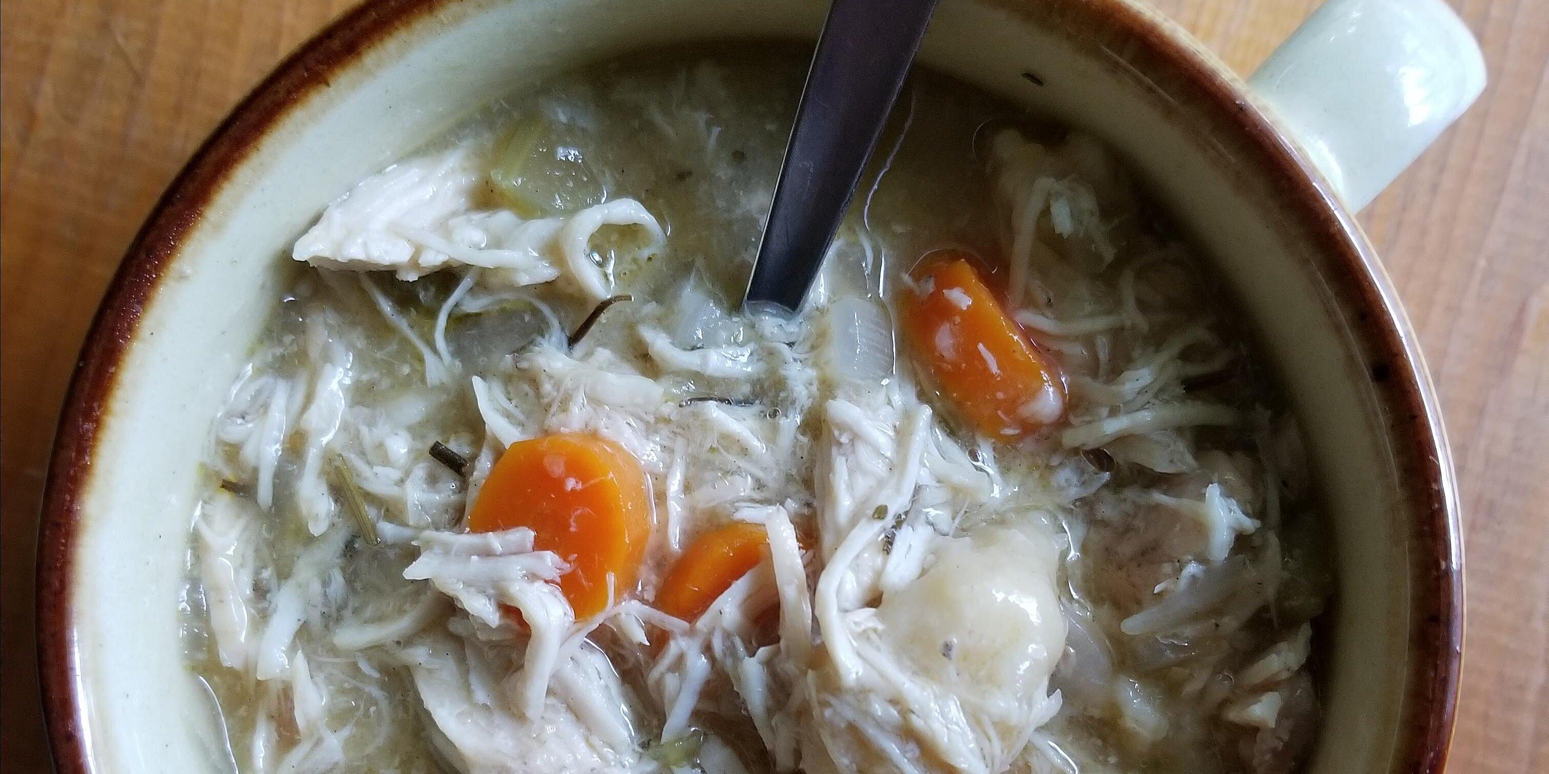 easy slow cooker chicken and dumplings recipe