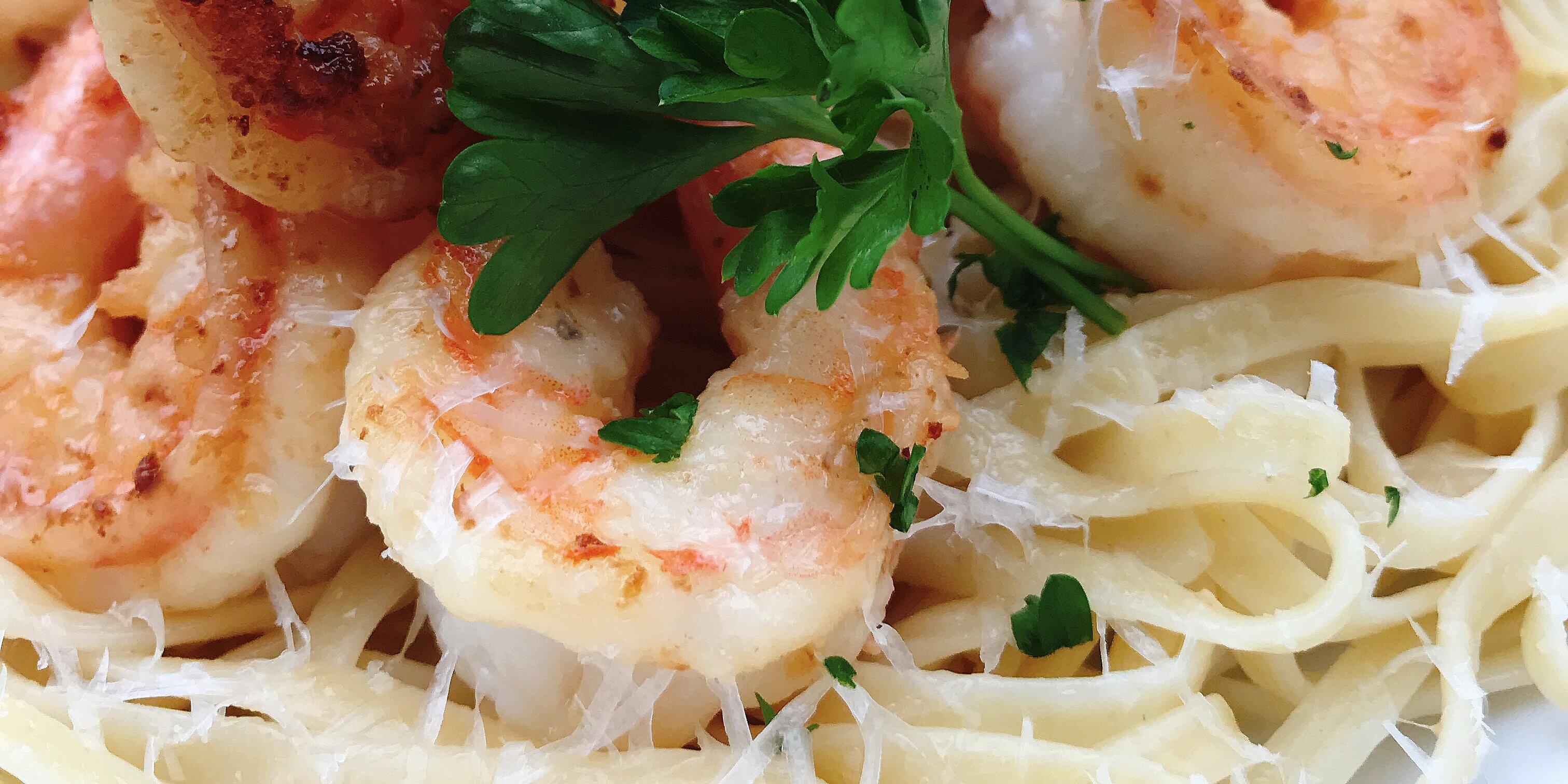 creamy shrimp scampi with half and half recipe