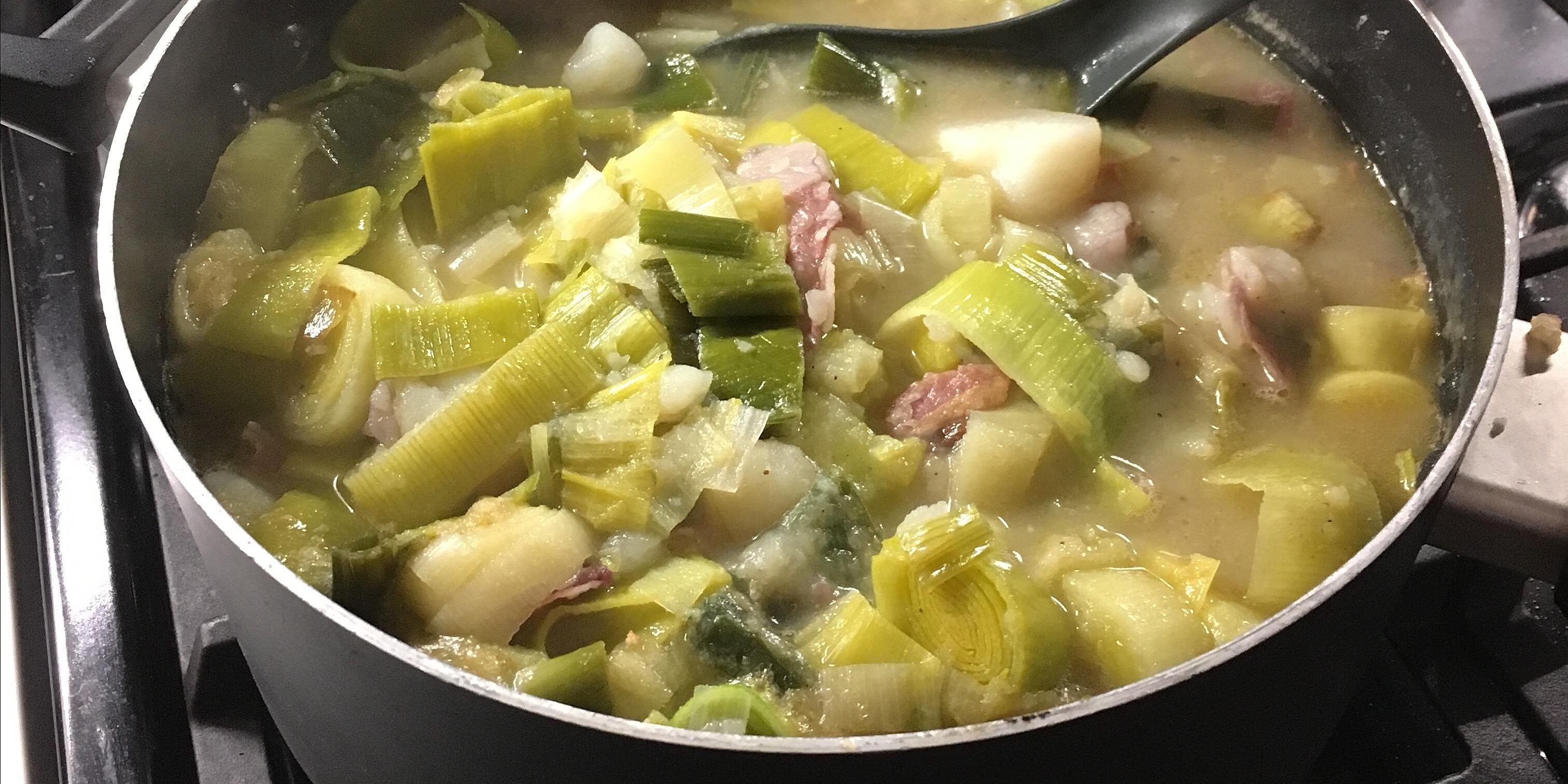 real potato leek soup recipe