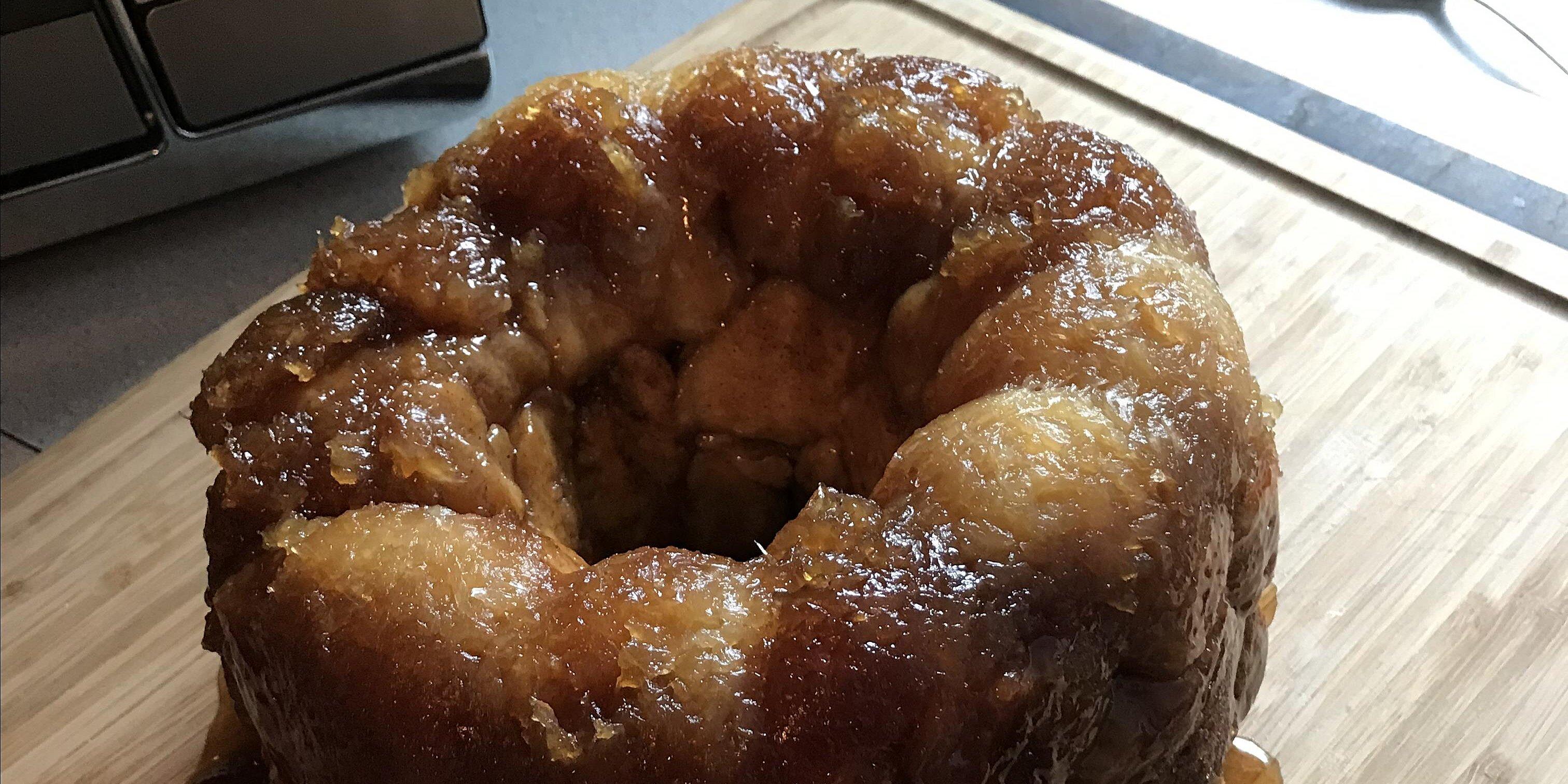 pineapple upside down monkey bread recipe