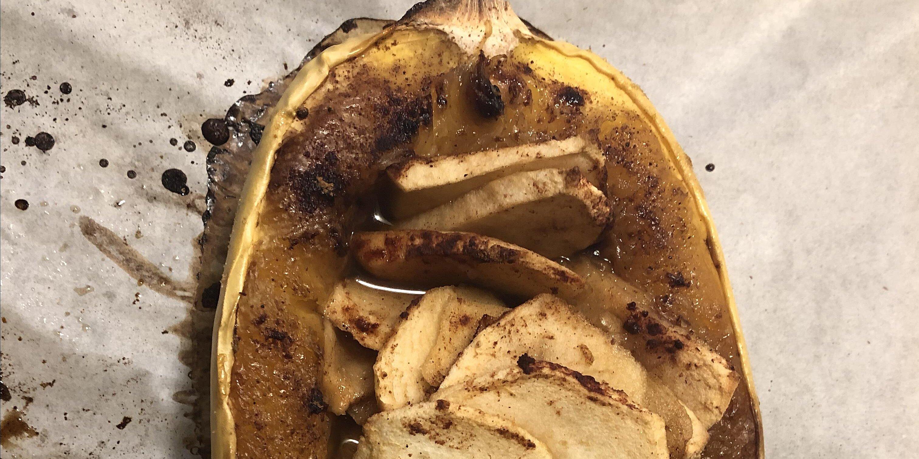 apple and cinnamon spaghetti squash recipe