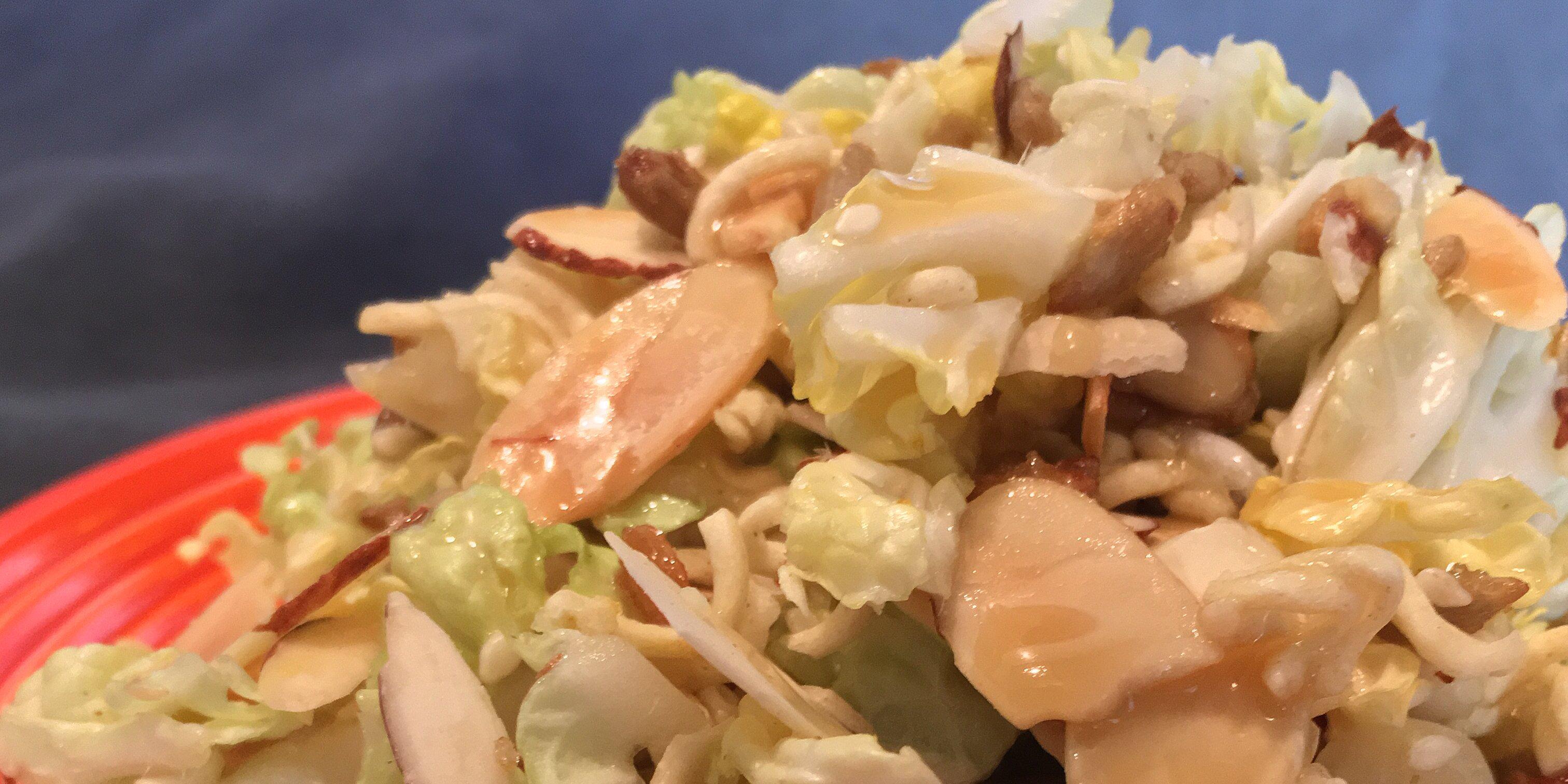 sallys napa cabbage salad recipe