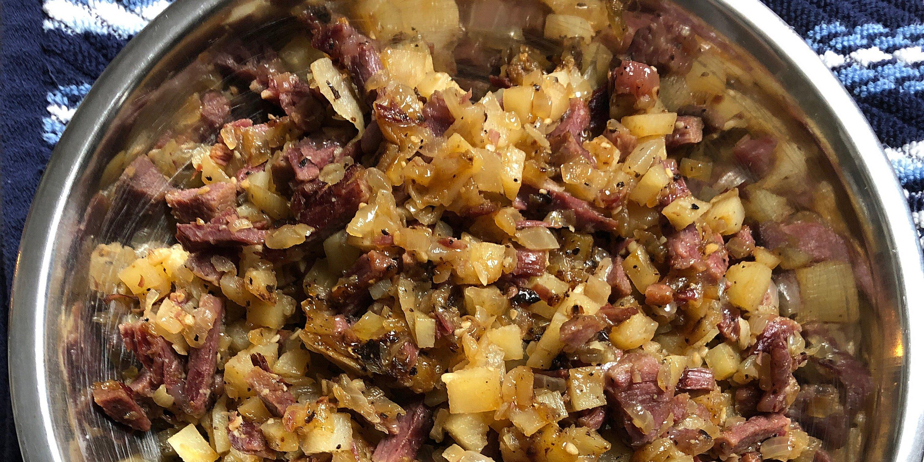 corned beef hash abalos style recipe
