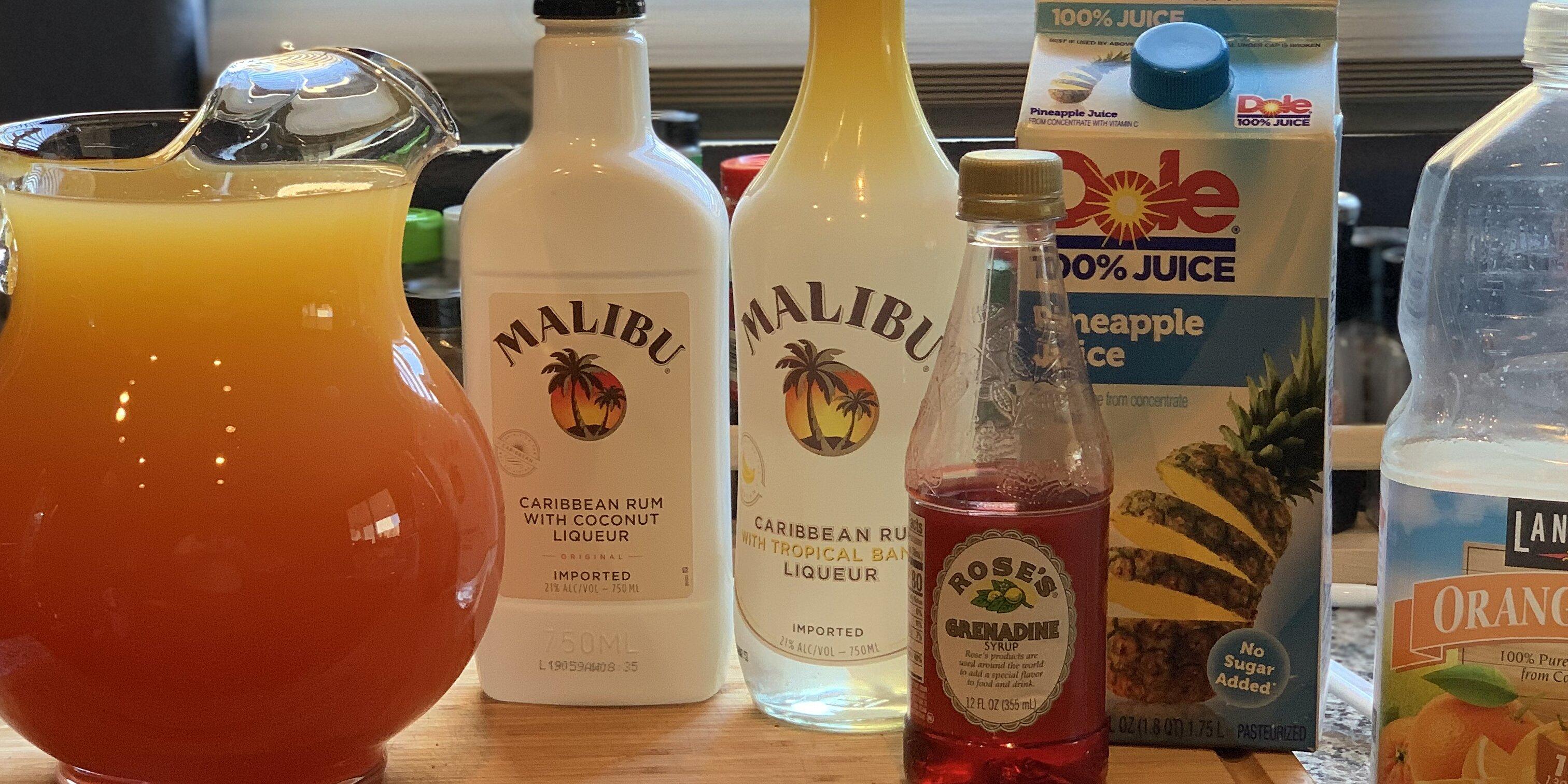 bahama mama celebration drink recipe