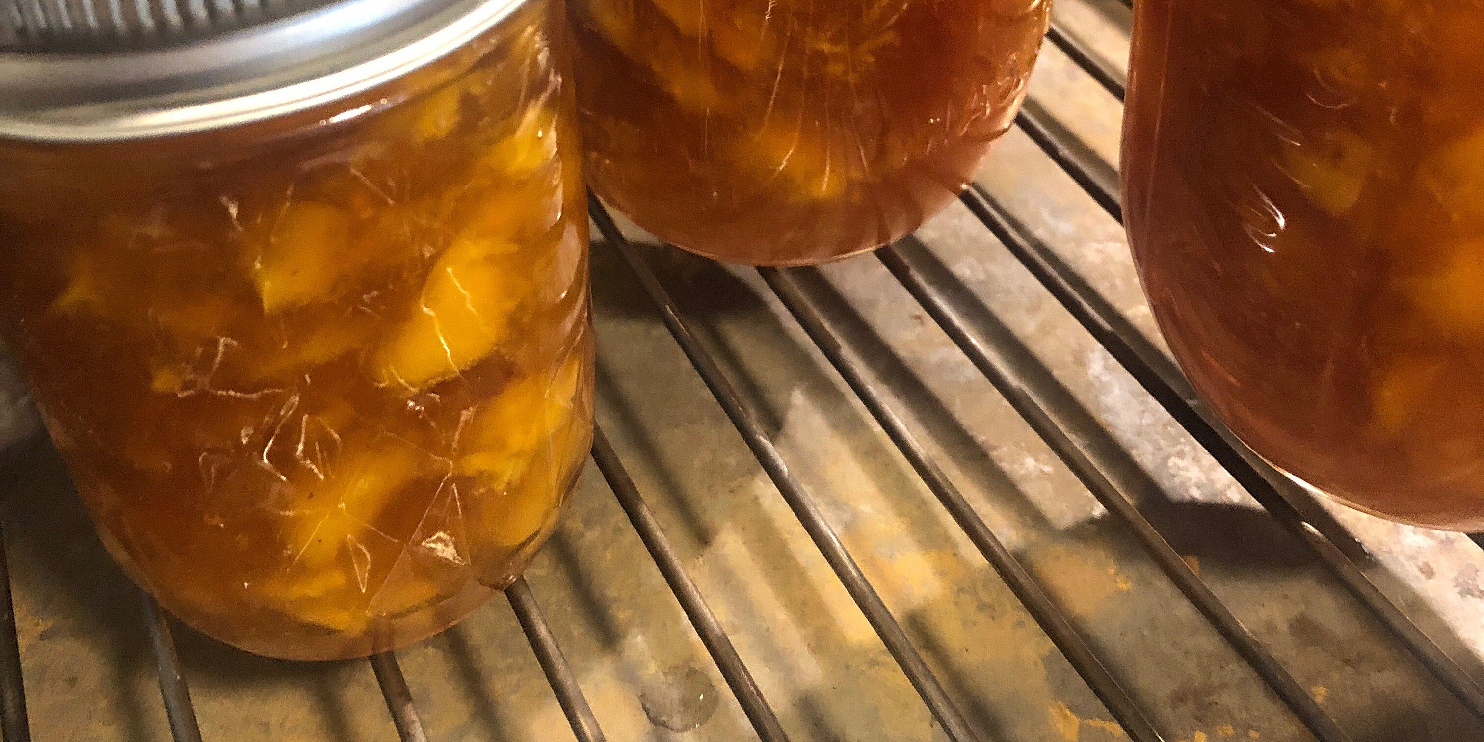 peach jam with amaretto liqueur recipe