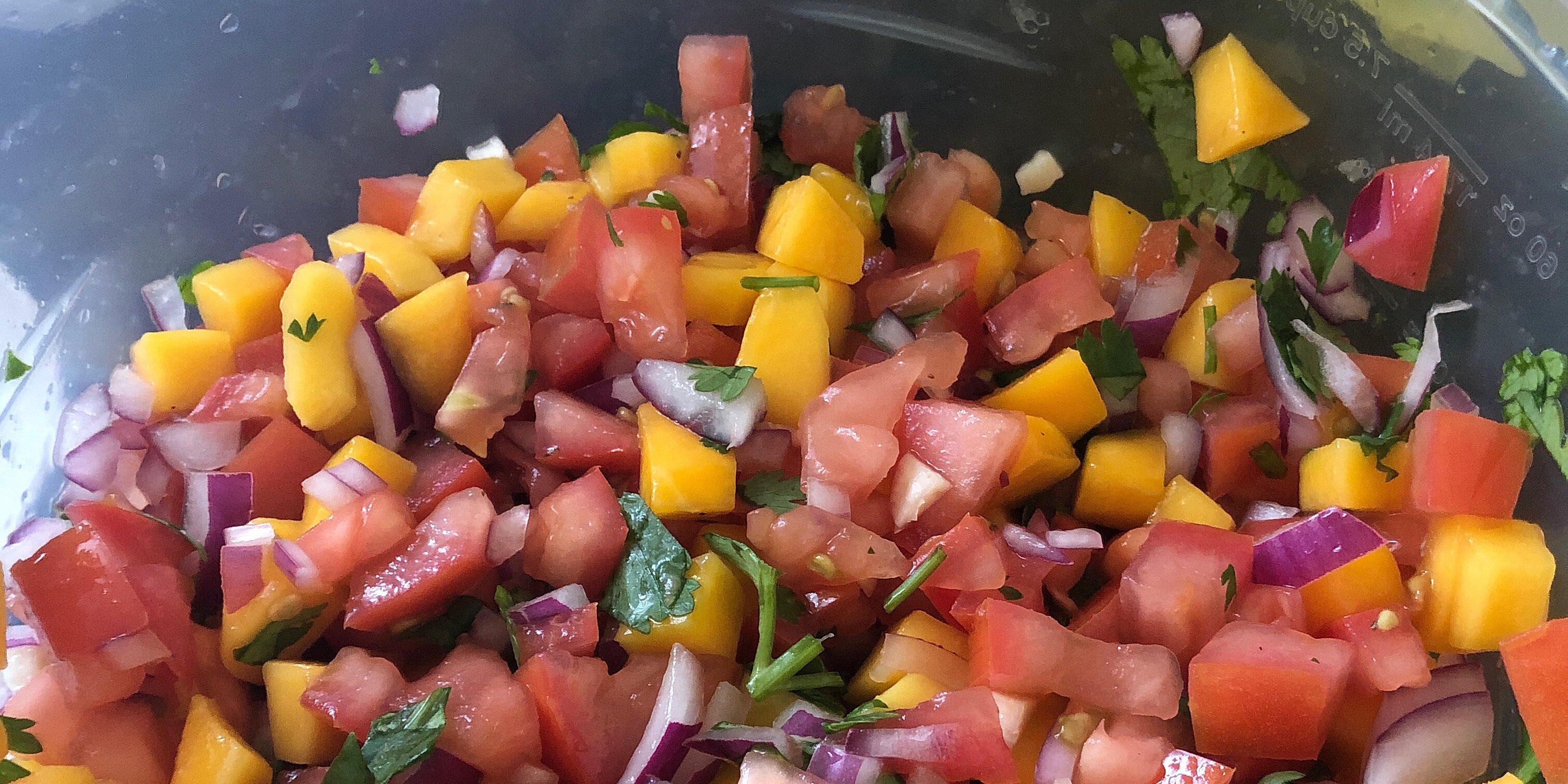 dsfs fresh mango salsa recipe