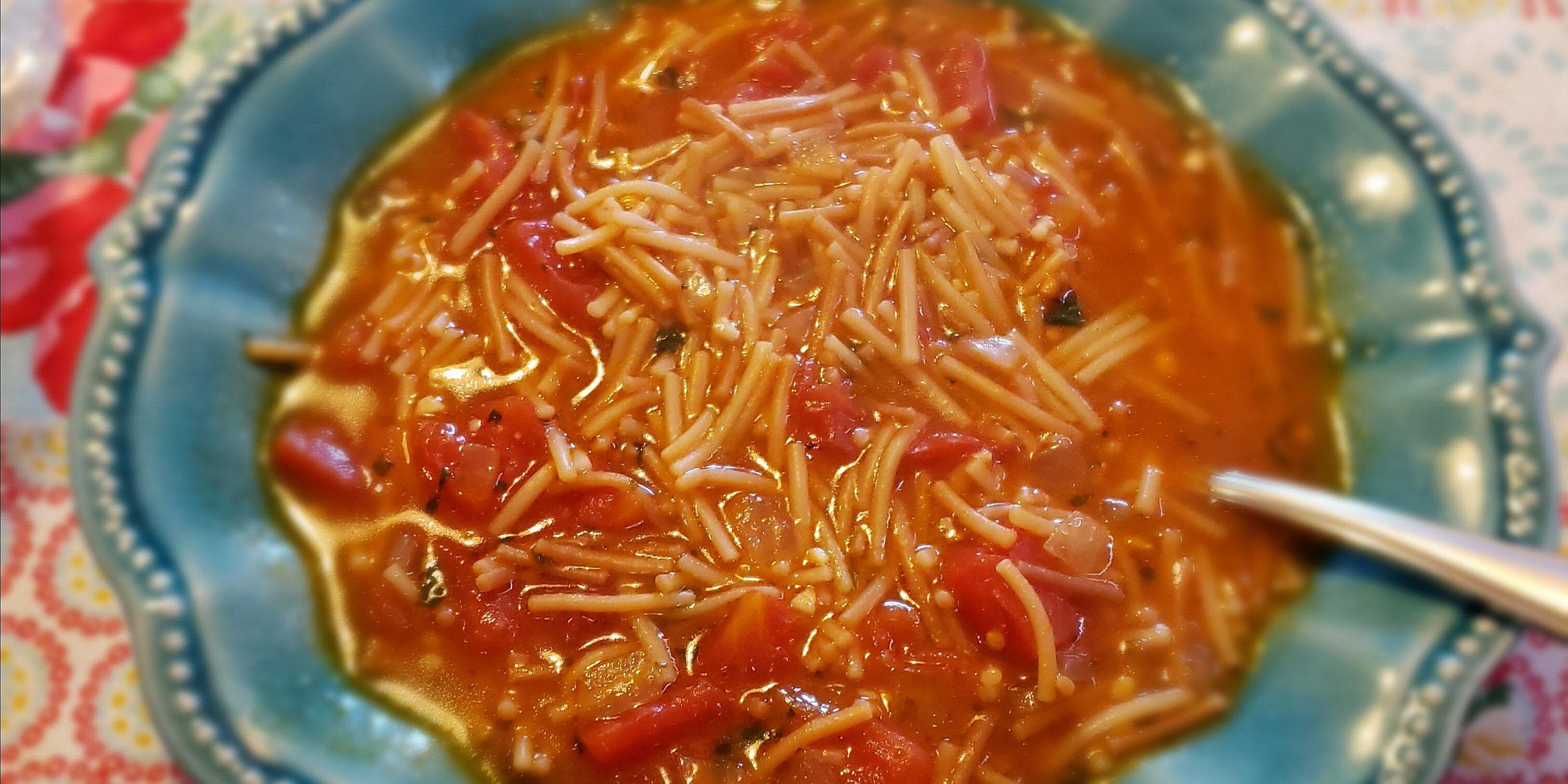 sopa de fideos recipe