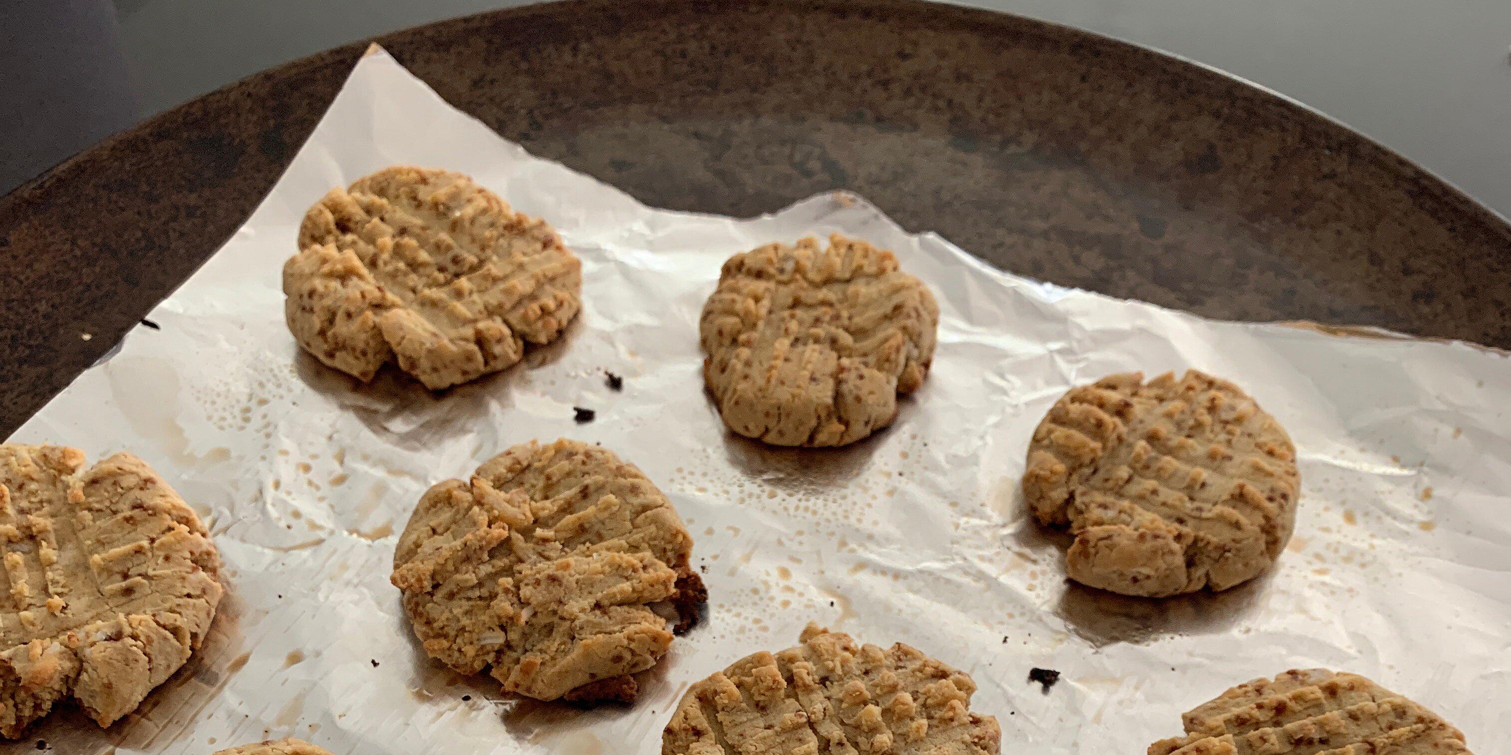gluten free coconut flour shortbread cookies