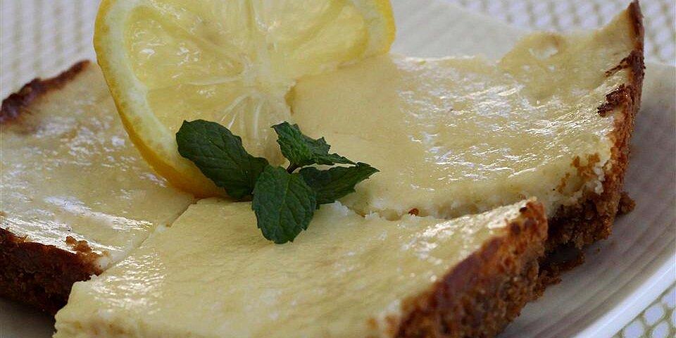 ginger lemon cheesecake bars recipe