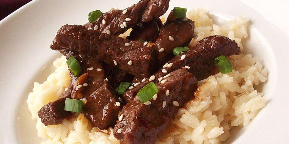 super simple super spicy mongolian beef recipe