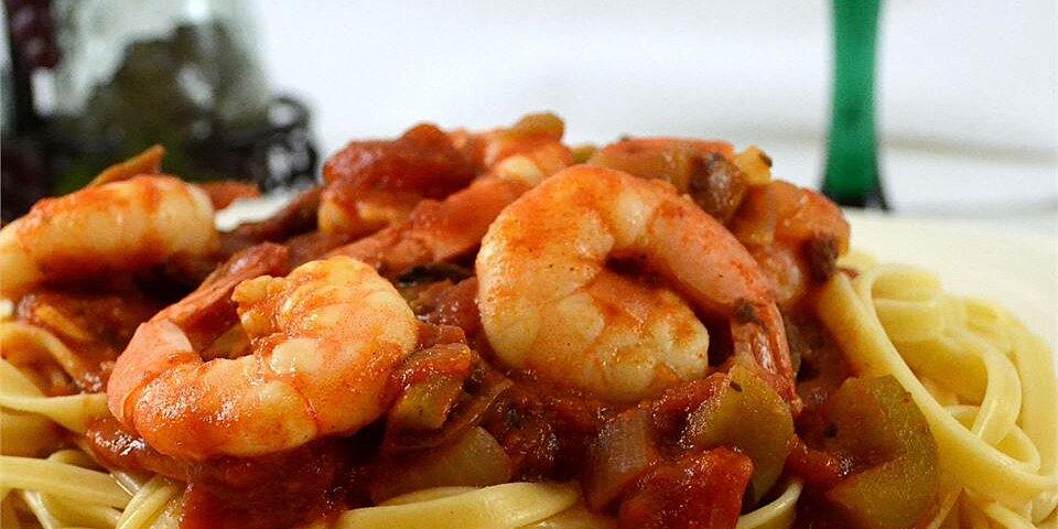 spicy shrimp primavera recipe