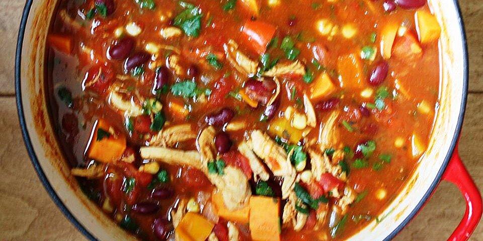 spicy chicken and sweet potato stew recipe