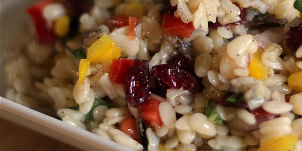 orzo and wild rice salad recipe