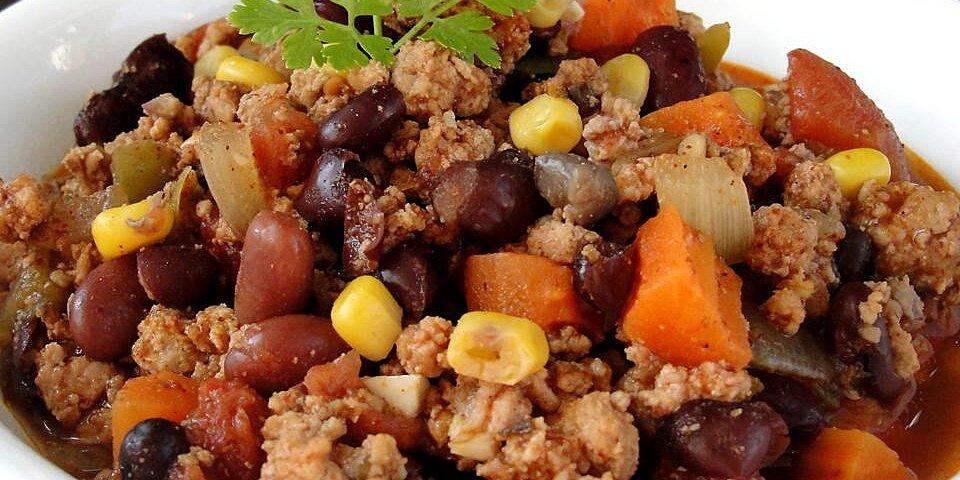 black bean and chickpea chili recipe