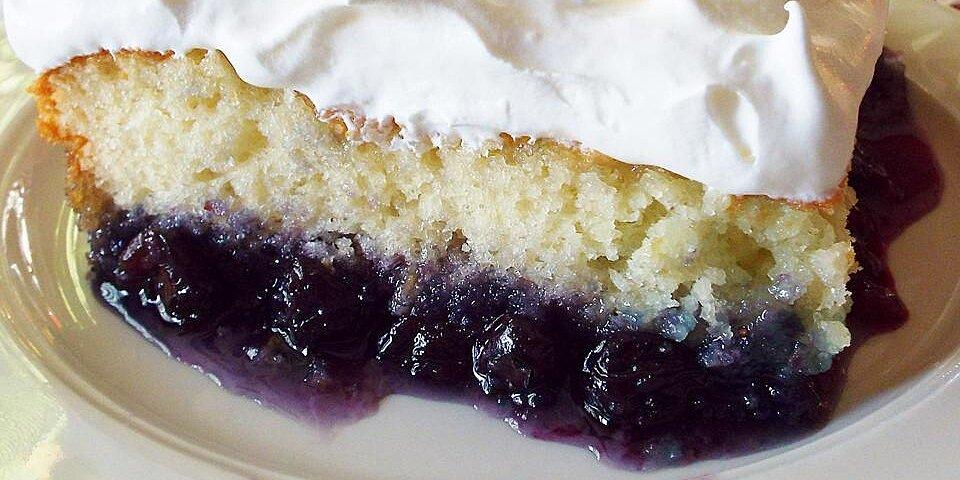 blueberry bottom cake recipe
