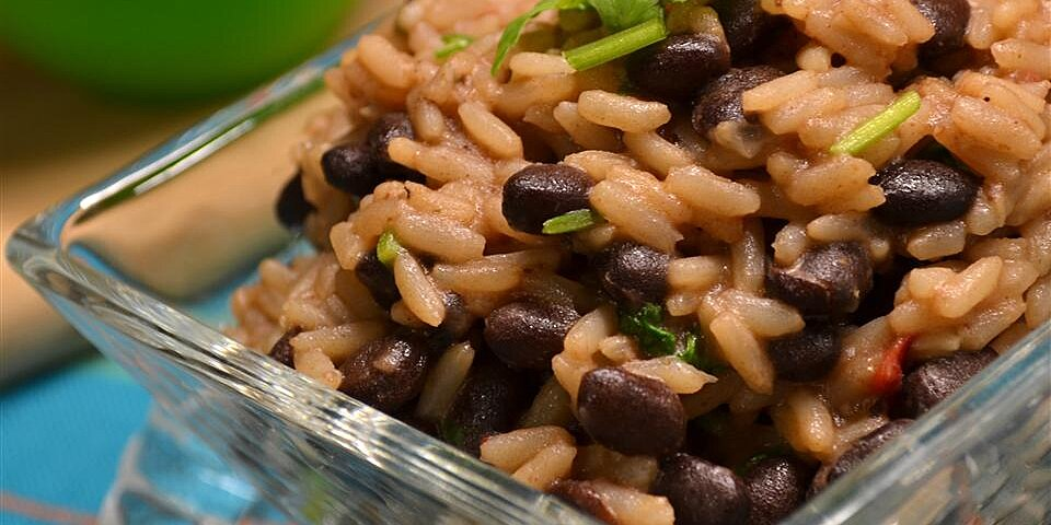quick and easy black beans and rice recipe