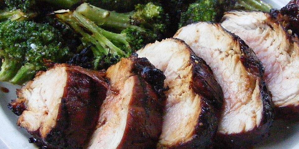 molasses glazed pork tenderloin recipe