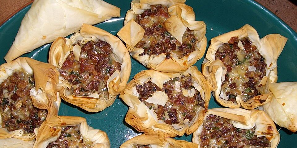 chanterelle mushroom and bacon tartlets recipe