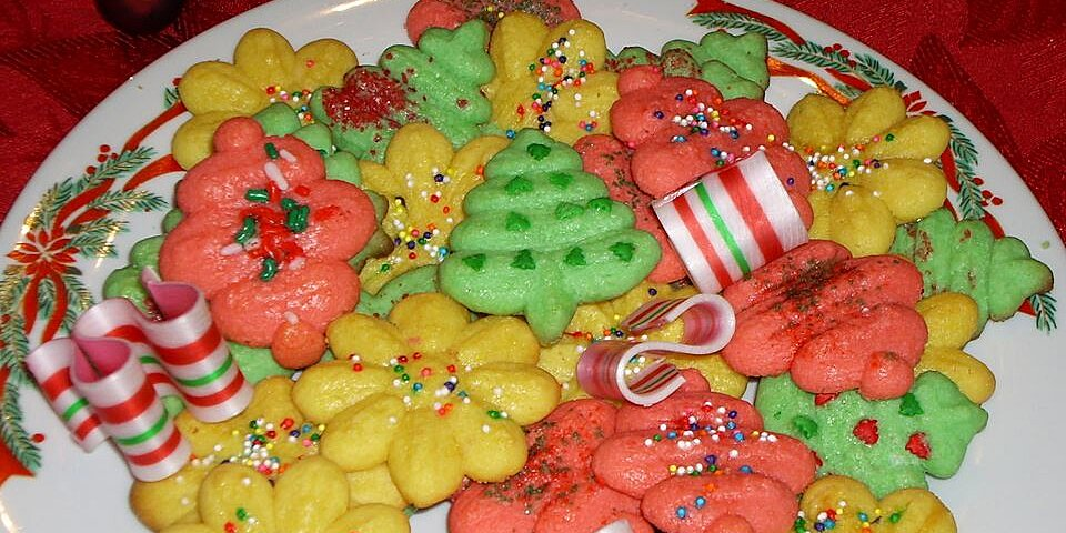 cookie press butter cookies recipe