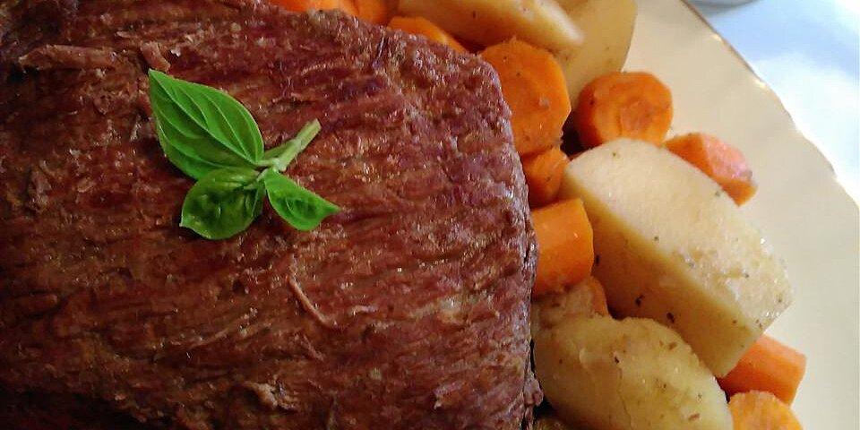 stove top pot roast recipe
