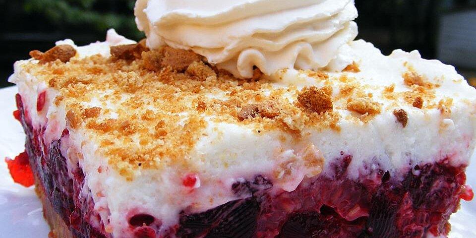 raspberry icebox cake recipe