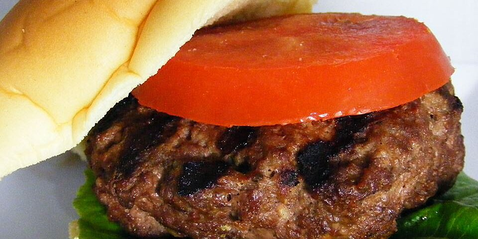 delicious grilled hamburgers recipe