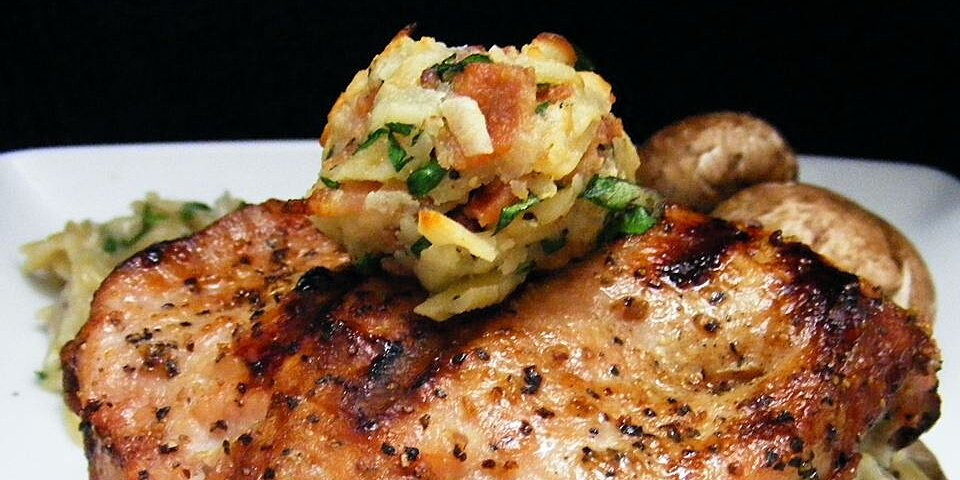 pork chops stuffed with smoked gouda and bacon recipe